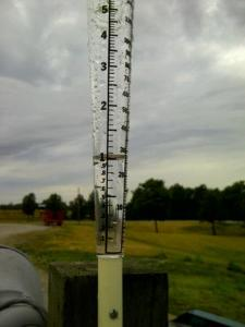 This is the rain we had last July that helped our soybean crop survive.