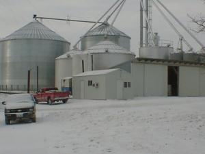 feed shed,  farm